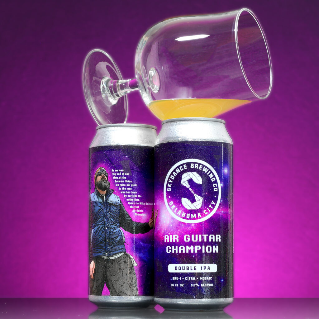 Skydance Brewing Air Guitar Champion Double IPA